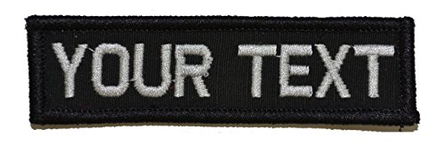 Customizable Text 1x3 Patch w/Hook Fastener Morale Patch - B