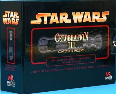 Star Wars - Obi-Wan Kenobi Celebration III Convention Exclusive Lightsaber .45 scale replica ()