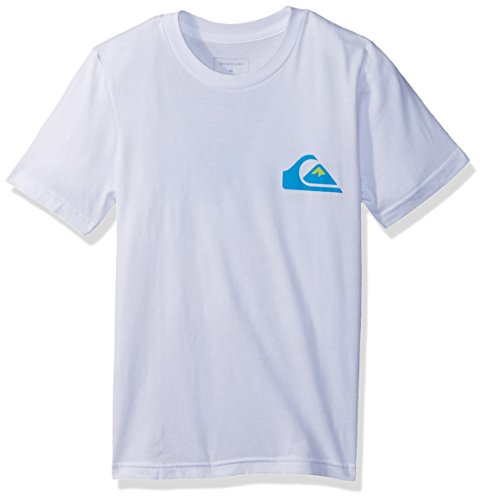 Quiksilver Big Boys' Vice Versa Youth Tee Shirt, White, L/14 by Quiksilver (Image #1)