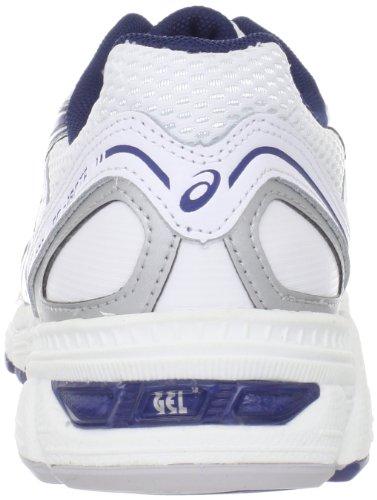 Asics - Zapatillas para deportes de exterior para hombre White/Navy/Silver