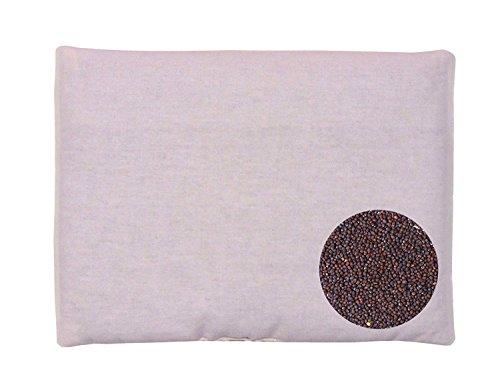 Sharma Clothing Mustard Seeds (Rai) Pillow Cotton,Baby Head Shaping Takiya Detachable Mustard/Rai Seed Pouch for Easy Washing Feeding & Nursing Baby Neck Pillow (Sky Blue Teddy Shape)