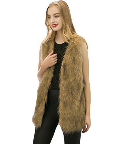 Long Fur Vest - 5