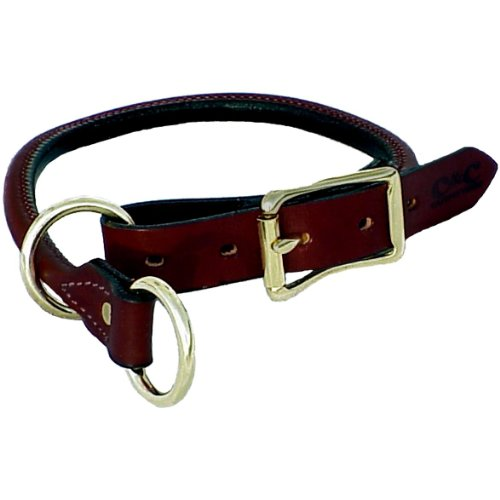 Mendota Products ME13618 Pet Dog Training Collar, 1 by 18 , Chestnut