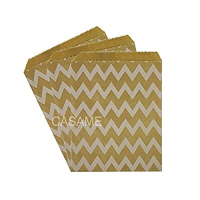 SaveStore 50pcs/ Lot treat candy bag Party Favor Paper Bags Chevron Polka Dot Stripe Printed Paper craft Bags Bakery Bags