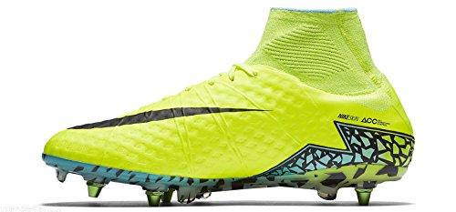 Nike Hypervenom Phantom Ii Sg Per Voetbalschoenen Amarillo (amarillo (volt / Zwart-hyper-turq Clr Jade))