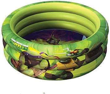 Tortugas Ninja - Piscina de 3 Anillos con diámetro de 100 cm ...