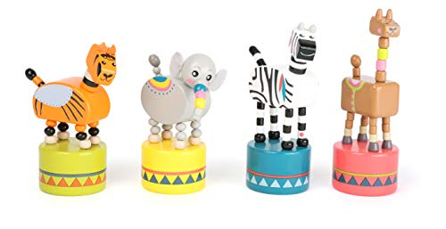 small foot company Wood Dancing Animals Display ()