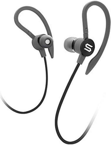 SOUL Electronics Flex2 High Performance Sports Earphones Running Earbuds – Black