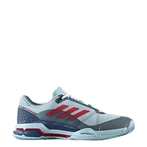 adidas Herren Barricade Club Tennisschuhe, Grau Various Colours (Azuhie / Rosene / Azunoc)