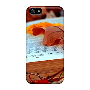 Hard Plastic Iphone 5/5s Case Back Cover,hot The Fallen Leaf Case At Perfect Diy