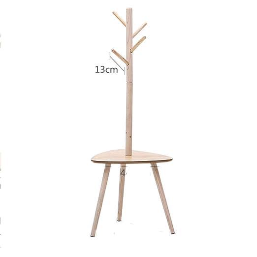 HAIMING-Floor coat rack Perchas de Suelo, Perchero Simple ...