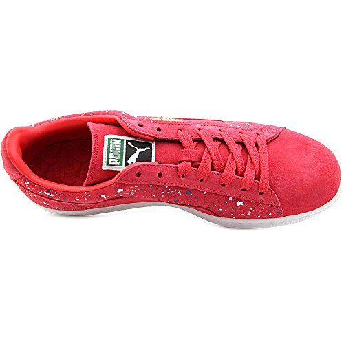 white PUMA Classic Red Men's Teaberry Suede Sneaker qpzYF0q