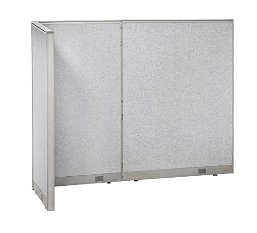 GOF L-Shaped Freestanding Partition 36D x 84W x 72H / Office, Room Divider 3' x 7' (36D x 84W x 72H) by GOF
