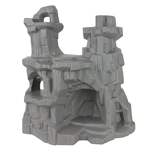 TimMee Battle Mountain: 15 inch high Cliffs and Caves for figure Display or Play - Made in the USA! by Tim Mee