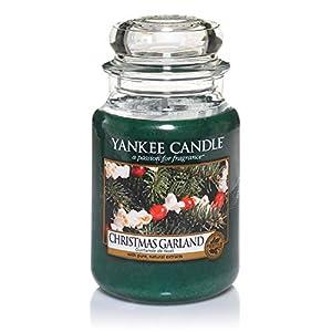 Yankee Candle Christmas Garland Candela in giara grande, Fino a 150 ore di combustione 11 spesavip