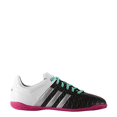 adidas Jungen Ace 15.4 in J Fußballschuhe noir/argent mat/vert flash