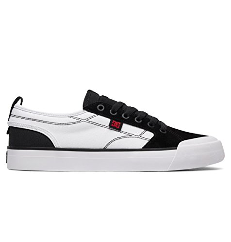 DC Shoes Mens Shoes Evan Smith - Shoes - Men - US 13 - Multicolor Black/White/Red US 13 / UK 12 / EU 47