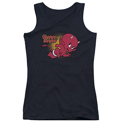 Trevco Material caliente del personaje de cómic diablo tanque camisa corriente arriba para niñas: Amazon.es: Ropa y accesorios