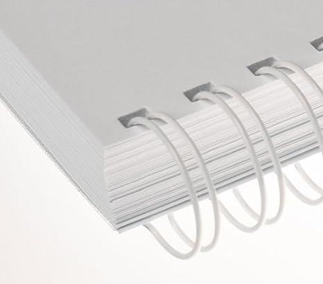 Renz Anello Wire filo pettine di rilegatura elementi in 3: 1Divisione, 34Passanti, Diametro 16.0mm, 5/8pollici verde Chr. Renz GmbH 4029126367411