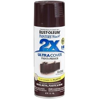 rustoleum touch multi purpose spray paint 12ounce kona