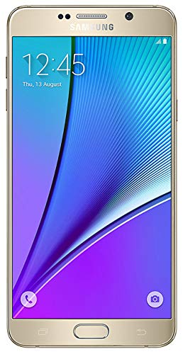 Samsung Galaxy Note 5 Verizon Wireless CDMA No-Contract 4G LTE Smartphone with Stylus Pen - Gold Platinum (Renewed)