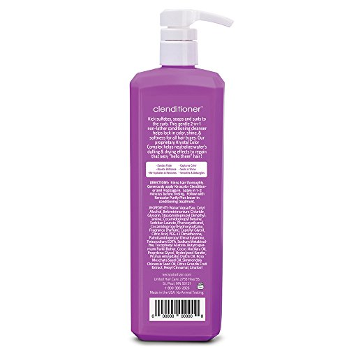 Amazon.com: Keracolor Clenditioner Conditioning Cleanser, 33.8 oz ...