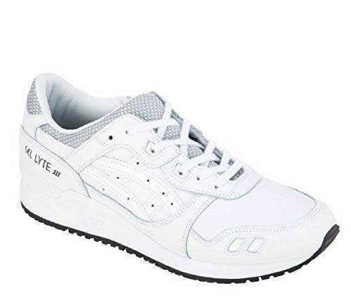 Asics Gel-Lyte Iii, Zapatillas de Entrenamiento para Hombre Blanco (White/white)