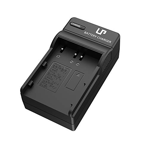 LP EN-EL3e Battery Charger for Nikon EN-EL3e, EL3, EL3a Battery, Compatible with Nikon D50, D70, D70s, D80, D90, D100, D200, D300, D300s, D700 Cameras, Replacement for MH-18 MH-18a MH-19 Charger