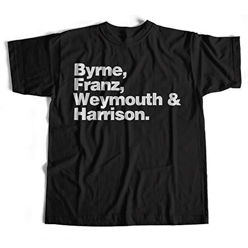 Old Skool Hooligans Tribute To Talking Heads T Shirt - Names-black-m ()