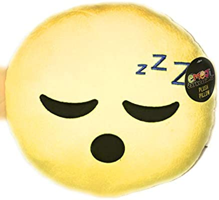 Amazon.com: Emoji Smiley - Almohada divertida para ...