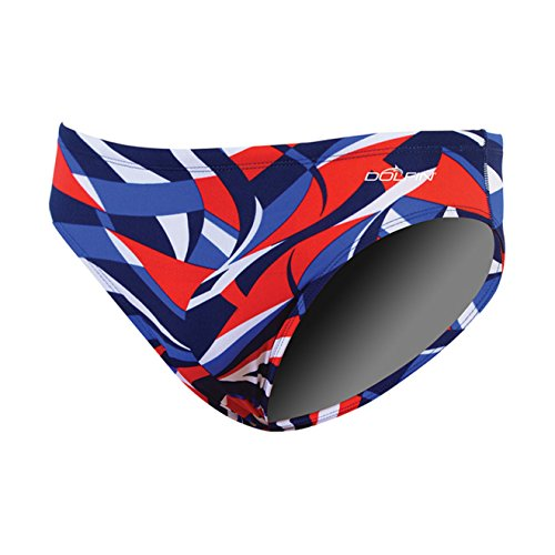 - Dolfin Viper Reliance Racer Male Red/White/Blue 30