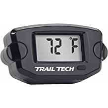 Trail Tech Surface Mount Universal Temperature Meter w/ Fin Sensor - 8mm - Black 742EF8