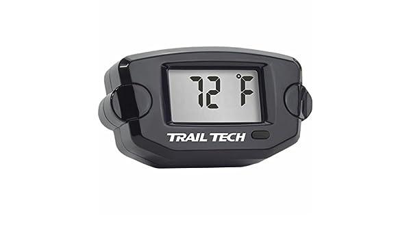 Amazon.com: Trail Tech TTO Temperature Meter Fin Sensor - Surface Mount (7mm) (Black): Automotive