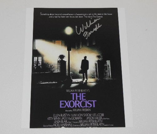 The Exorcist William Friedkin Authentic Signed Autographed 8x10 Glossy Photo Loa (Film Halloween The Beginning 2)