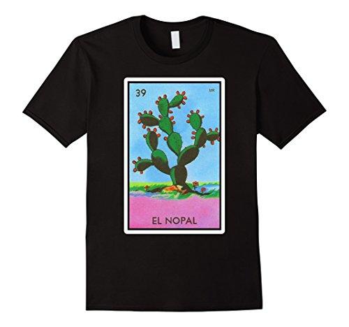 El Nopal Loteria Mexican Lottery Bingo Funny T Shirt