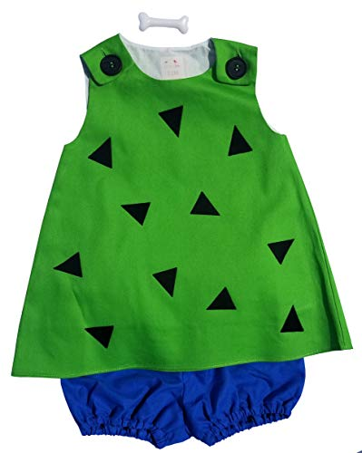 Perfect Pairz Pebbles only(12M) (Pebbles And Bam Bam Halloween Costumes Toddler)