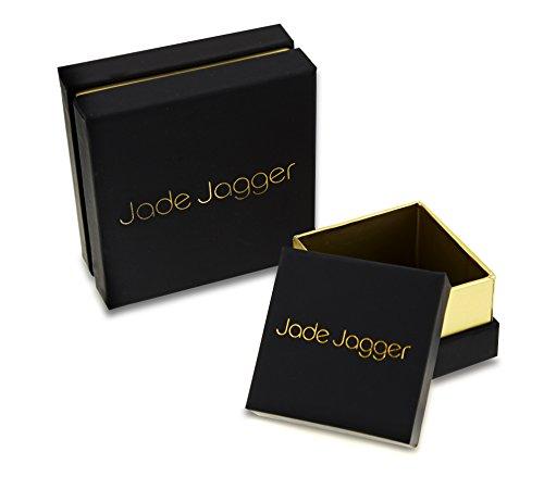 Jade Jagger Boucles d'Oreilles Acier Inoxydable Ronde Opale Multicolore Femme