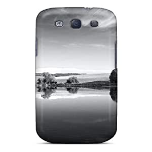Hard Plastic Galaxy S3 Case Back Cover,hot Lake Mirror Case At Perfect Diy
