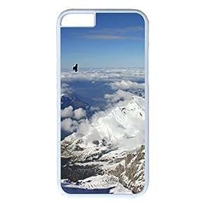 Snow Mountain Personalized Design White PC Case for Iphone 6 Eagle wangjiang maoyi
