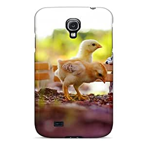 Tpu Case Cover For Galaxy S4 Strong Protect Case - Chickens Star Wars Toys Design