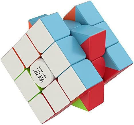The Amazing Smart Cube [IQ Tester] 3×3 Magic Speed Cube – Anti Stress for Anti-anxiety Adults Kids – Best High Speed Puzzle Toy Turns Quicker and More Precisely