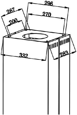 Kit de recirculación rk20 para neg Isla – Campana extractora: Amazon.es: Grandes electrodomésticos