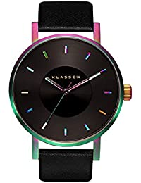 watch watch VOLARE 42mm leather belt simple fashion Rainbow Men Women