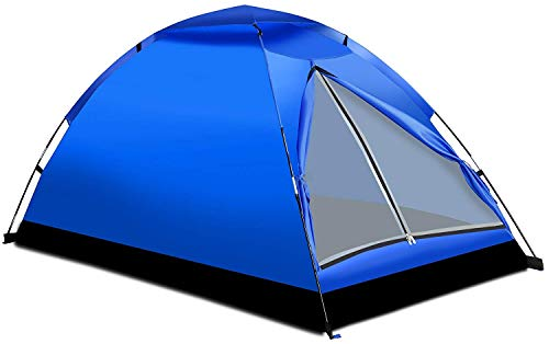 Alvantor Camping Tent Outdoor Travelite Backpacking Light Weight Family Dome Tent Pop Up Instant Portable Compact Shelter Easy Set Up (NOT Waterproof) Color Random