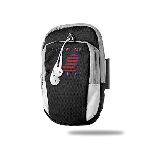 Outdoor Sport Funny Can't Stump The Trump Multifunctional Casual Arm Package Bag Cellphone Mobile Phone Armbands (Arm Stump)