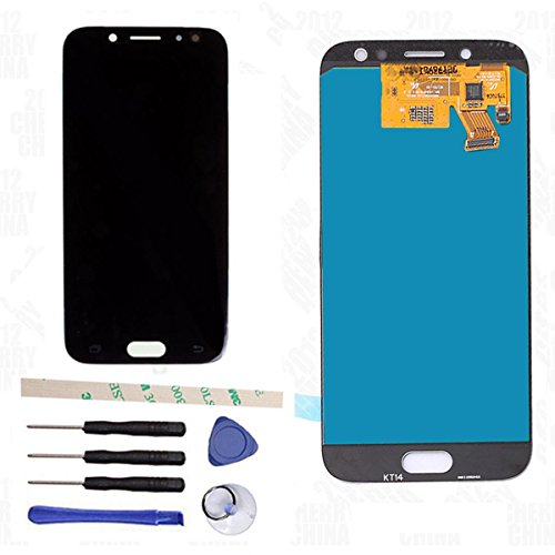 LCD Display Touch Screen Digitizer Assembly Replacement for Galaxy J5 2017 Pro J530 SM-J530F SM-J530Y J530Y/DS J530GM/DS J5 2017 Pro Duos (Black)