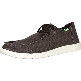 Sanuk Men's Shaka Sneaker, Brown, 8.5 M US