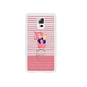 Funny Elephant Pink Pattern Hard Plastic Skin Case Cover for Samsung Galaxy S5 I9600 Personalized for Teen Girls