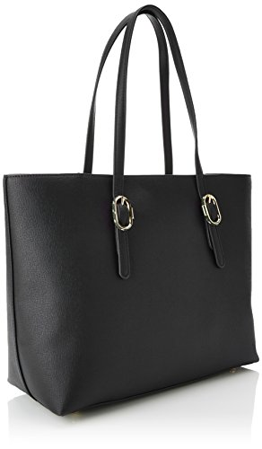 Black Tote Bolsos Th Tommy Buckle Negro Y Hilfiger Hombro de Shoppers Mujer 4qFwP1Bwx