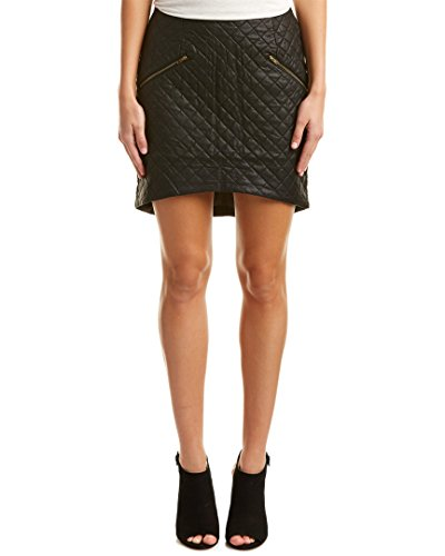 quilted leather skirt - 7